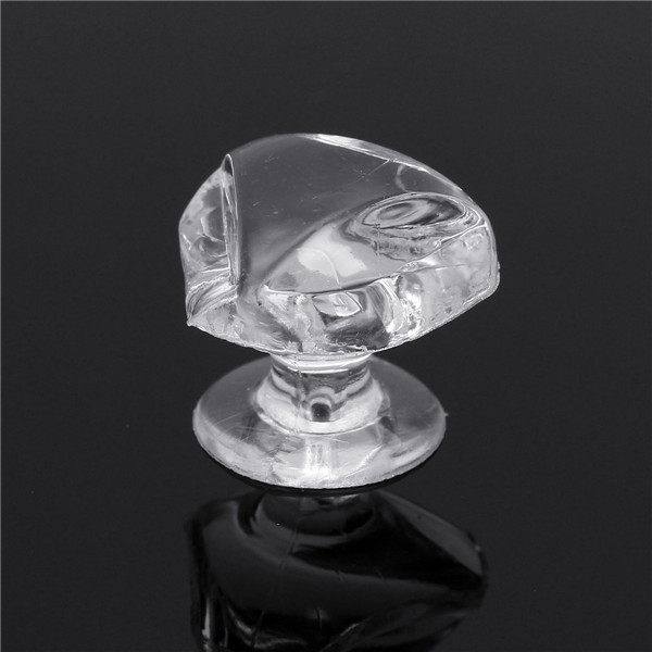10Pcs 1.7cm Artificial Crystal Knobs Cabinet Cupboard Drawer Han
