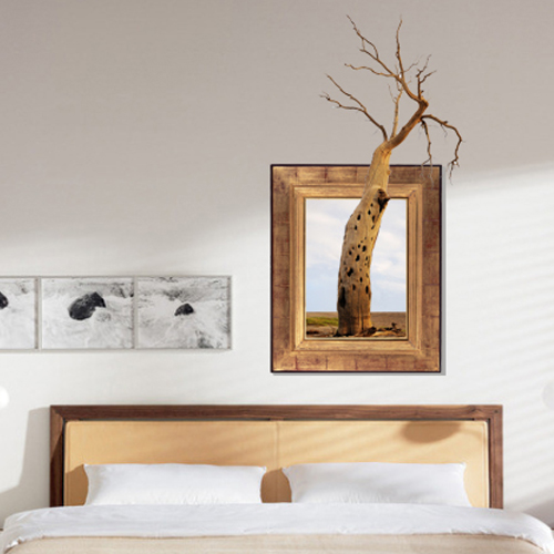 3D Tree Wall Decals Removable Tree Trunk Wall Stickers Home Wall