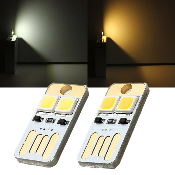 0.5W 25LM Mini Switch USB Mobile Power Camping LED Light Lamp