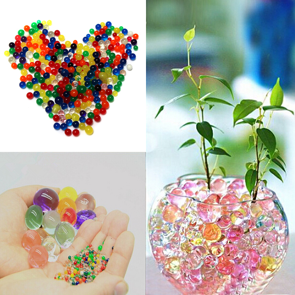 5bags DIY Colorful Magical Plant Growing Balls Crystal Soil Wate