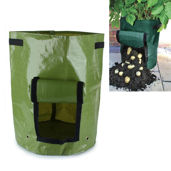 PE Vegetables Planting Bag Garden Balcony Potatoes Tomatoes Plan