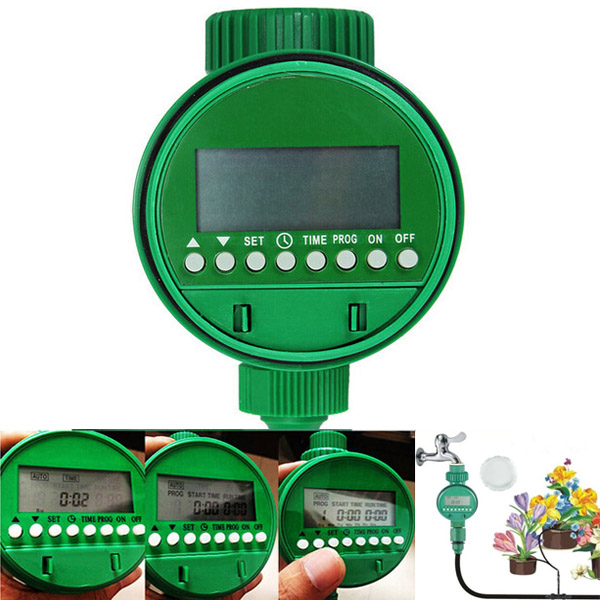 Intelligent Automatic Flowers Watering Timer House Garden Water
