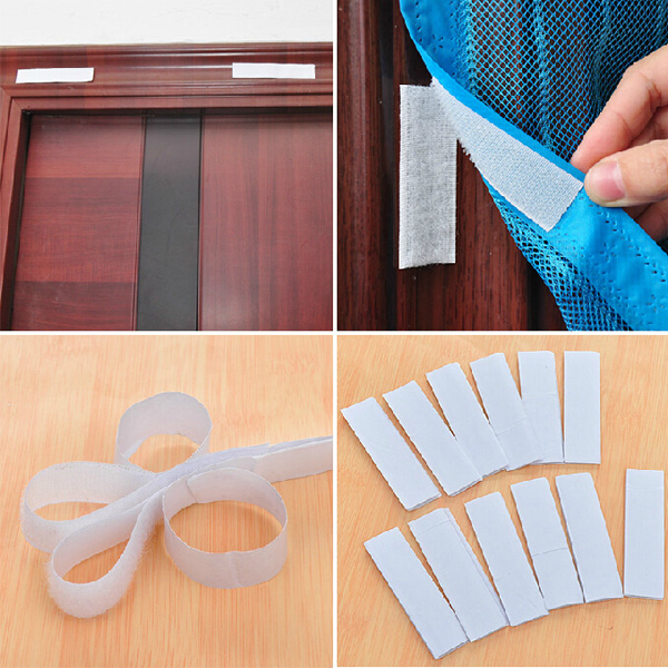 1 Roll Door Window Magic Velcro Glue Adhesive Double Sided Tape