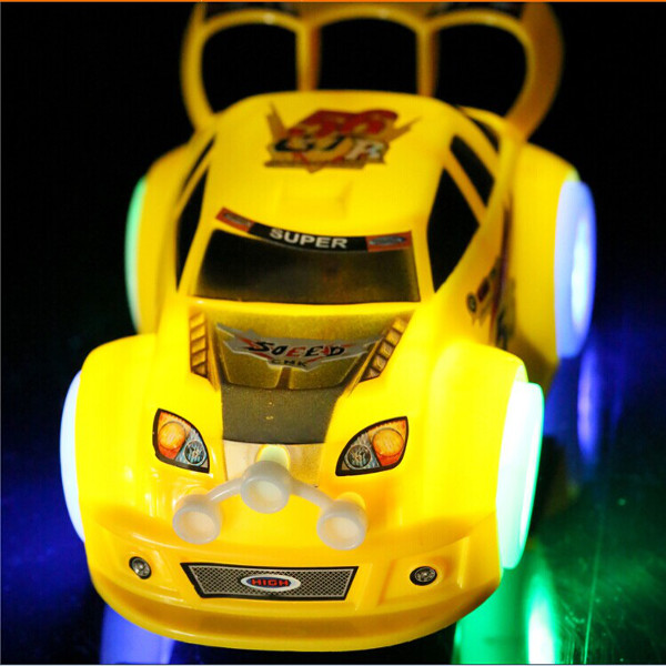 Children Light Emitting Musical Racing Car Electric Universal To