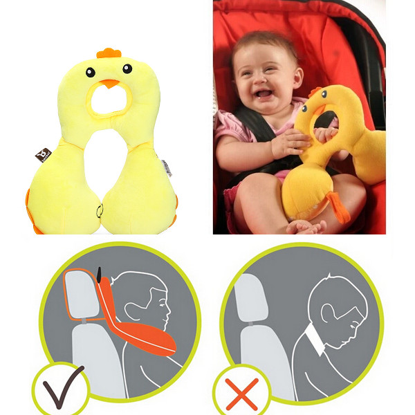 1-4Y Baby Nursing Pillow Child Car Seat Neck Head Back Protectio