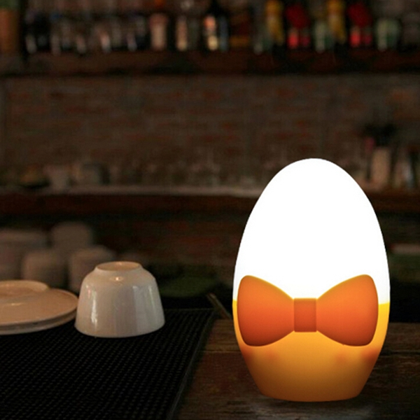 LED Light Sensor Cute Golden Egg Christmas Night Light Energy-sa