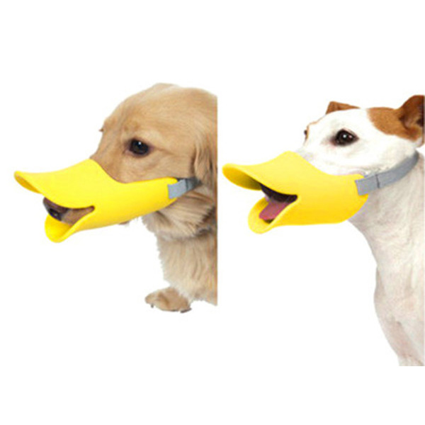 Anti Bite Duck Mouth Shape Pet Mouth Covers Anti-Called Muzzle M