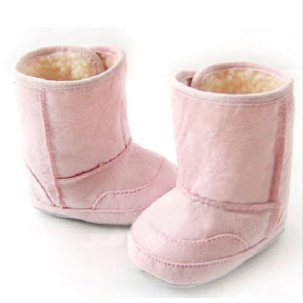 3 Colors Baby Girls Toddler Winter Warm Cotton Shoes Snow Boots