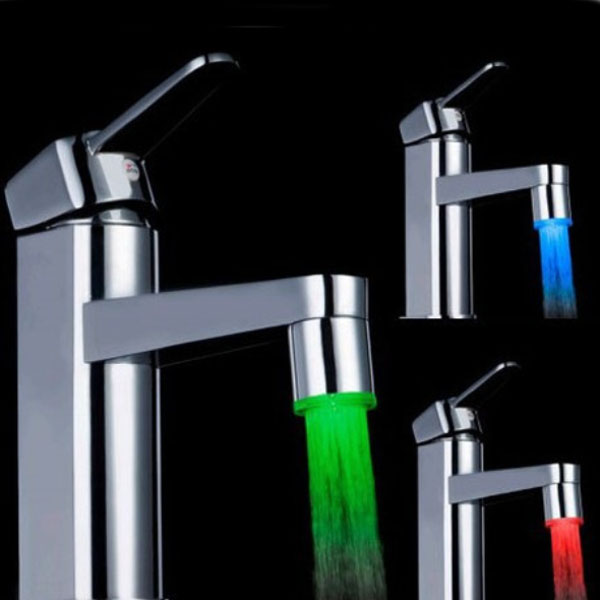 Led Light Faucet Tap Water Power With Adapter LD8001-A9
