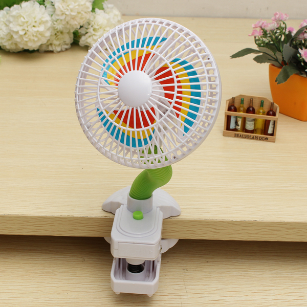 Newborn Kid Baby Safety Mini Clip Fan Small Stroller Pram Cooler