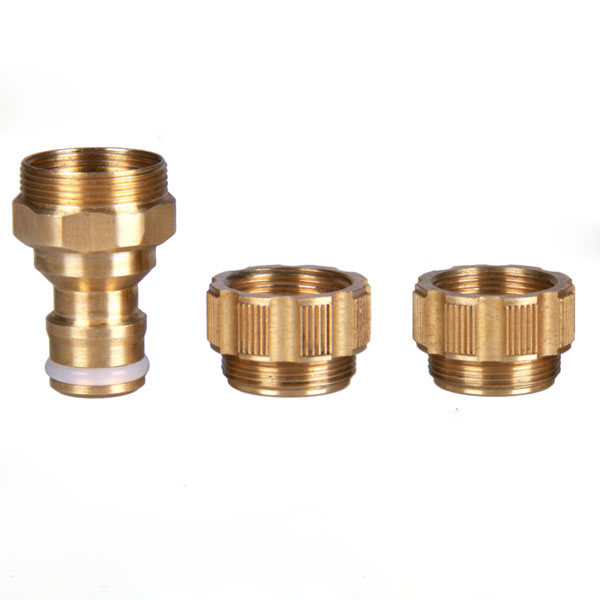 1/2 Inch Brass Universal Faucet Water Hose Tap Connector Fitting