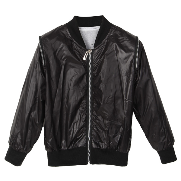 Baby Boys Kids Faux Leather Zip Up Motorcycle Jackets Coats Outw