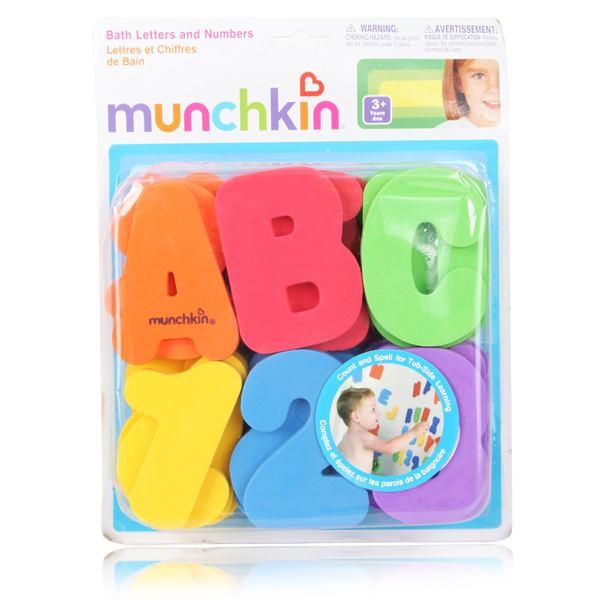 36Pcs Baby Kids Children Letters Numbers Educational Swimming Ba