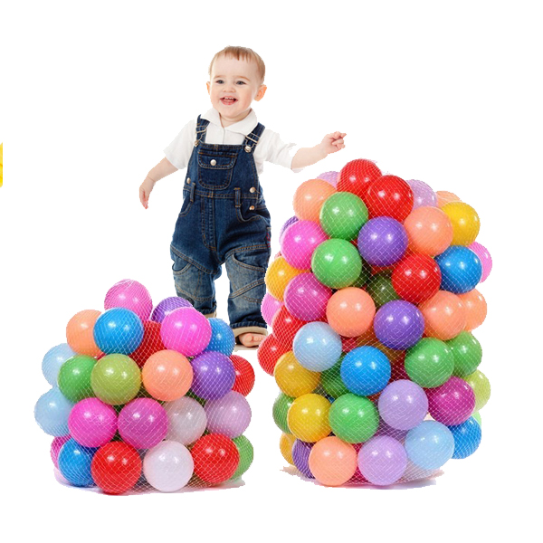 100pcs Baby Children Ocean Colorful Nice Elasticity Thickening B