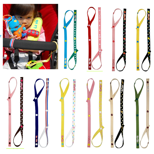 2Pcs Baby Toy Fixed To Carry Safety Seat Stroller Toys Hanging W