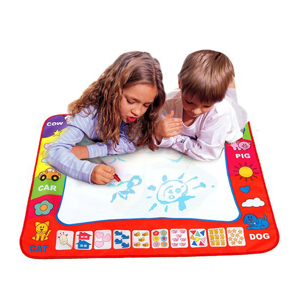 80 x 60cm Water Drawing Mat Children Painting Writing Doodle Toy