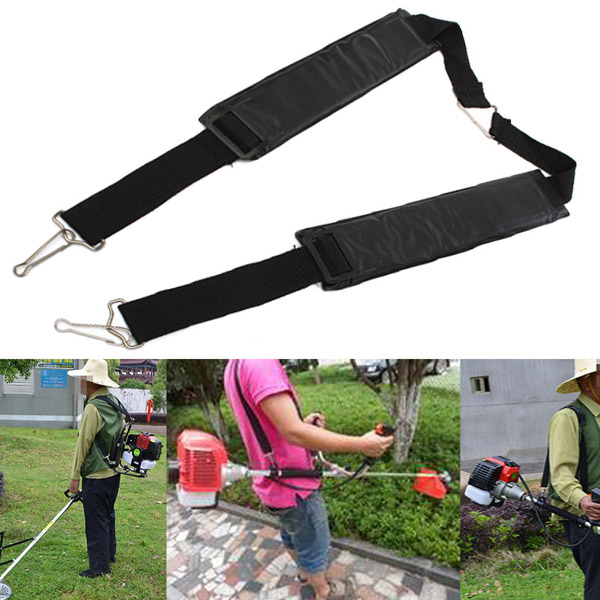120cm Grass Trimmer Shoulder Strap Garden Brush Cutter Lawn Mowe