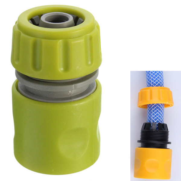 1/2 Inch Garden Spray Nozzle Joint Water Hose Quick Repair Conne