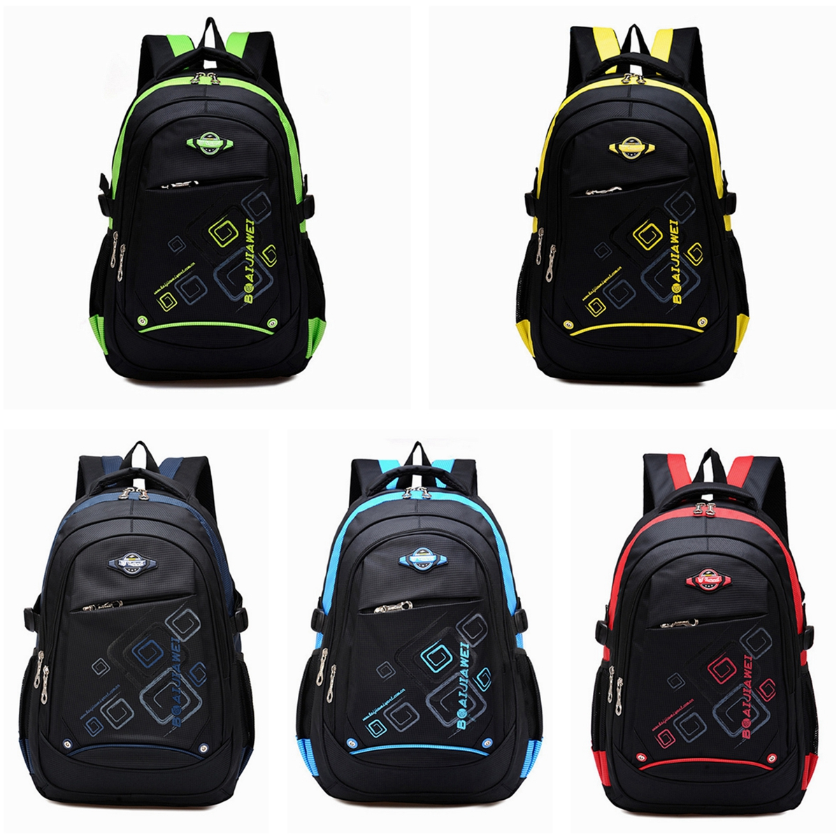 Waterproof Children School Bag Girls Boys Travel Backpack Should